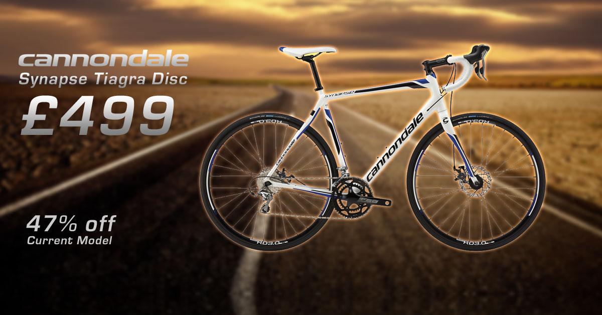 Cheap Cannondale Disc Road bike