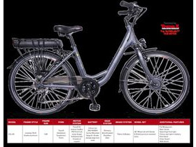 EBCO ELECTRIC CYCLES URBAN LEISURE UCL-30